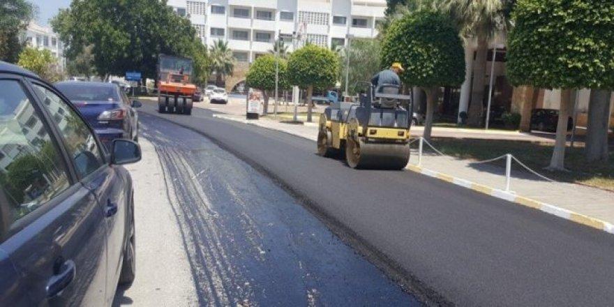 Girne'de asfaltlama çalışması yapılacak