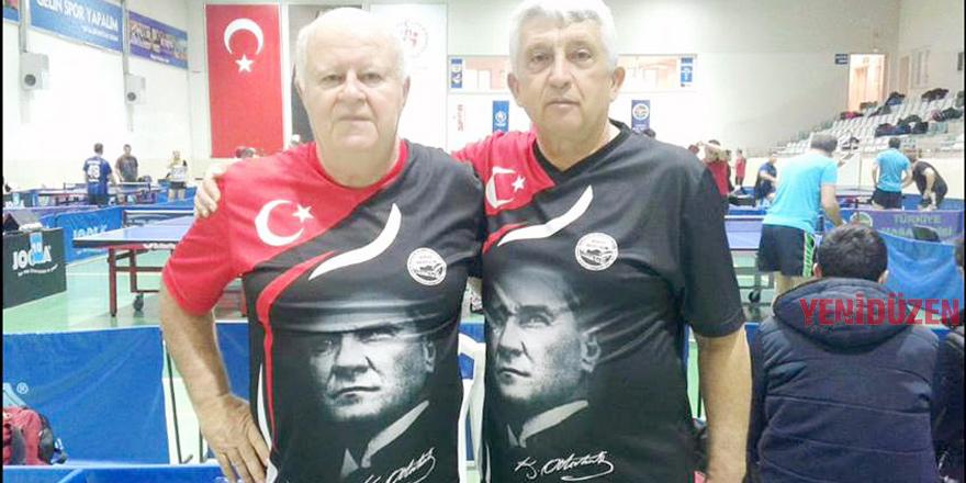Olguner çift erkeklerde şampiyon