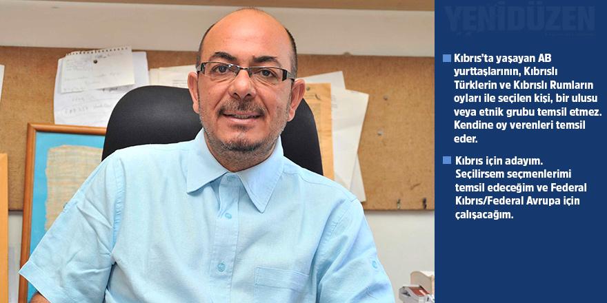 Kızılyürek: Kıbrıs için adayım