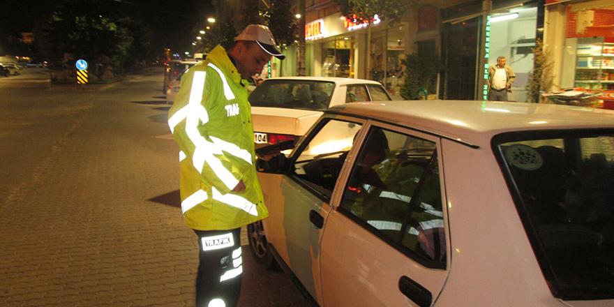 153 sürücüye ceza