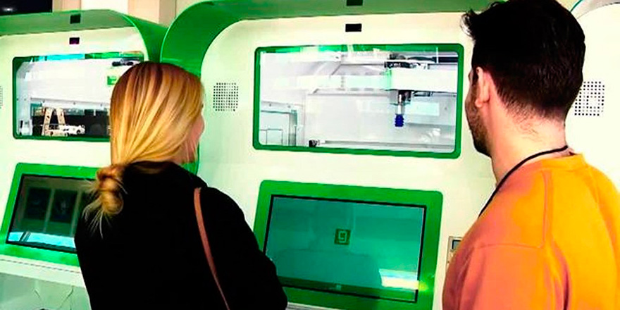 Dünyanın ilk otomatik 'esrar satış makinesi' hizmete girdi