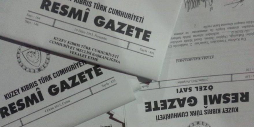 Resmi Gazete'den: Atamalar, arazi tahsisleri katkılar...