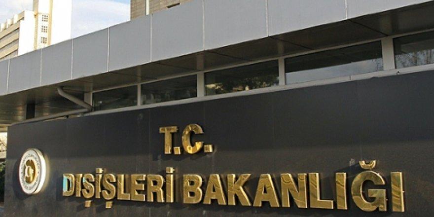 TC Dışişleri Bakanlığı'ndan Akıncı'ya destek