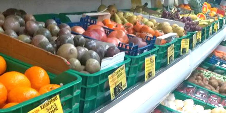 Sebze meyve fiyatları düşüşte