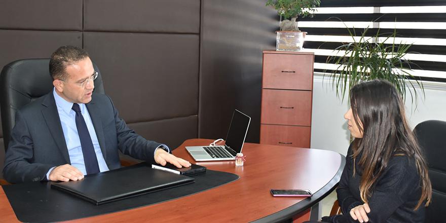 """Tarım ve Doğal Kaynaklar Bakanı Erkut Şahali:""""Kuraklık tek seferde ödenecek"""""""