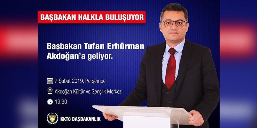 Başbakan, Akdoğan halkı ile bir araya gelecek