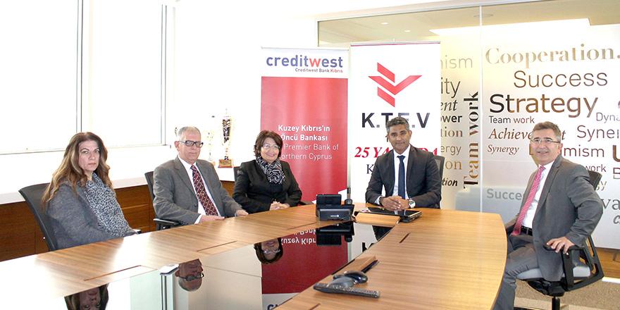 Creditwest eğitime katkı sağlıyor