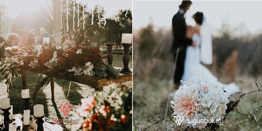 Düğün Buketi ile Masal Tadında Otelde Düğün Organizasyonları