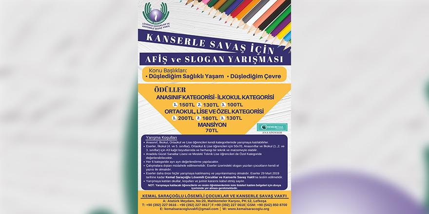 Afiş yarışması için son tarih 29 Mart