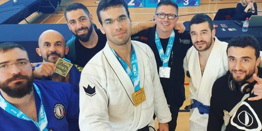 NEUBJJ'de hedef 4 altın madalya