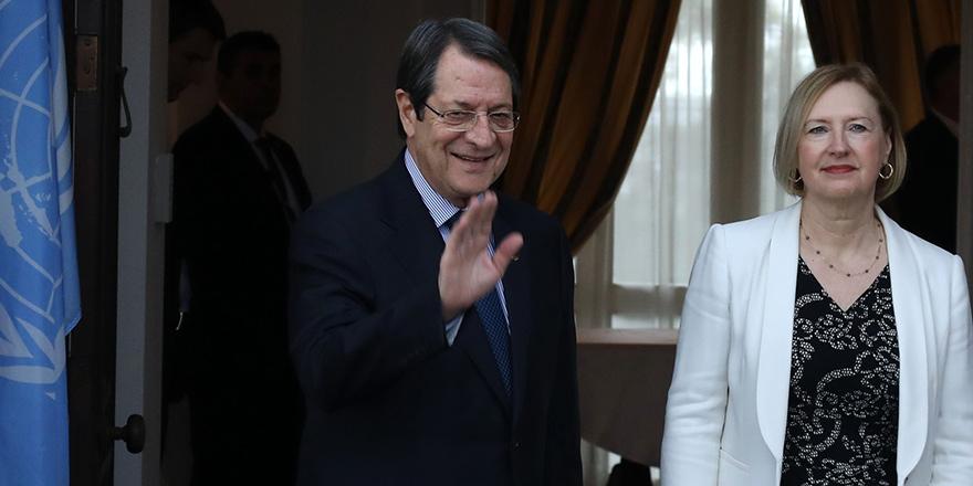 Anastasiades: Görüşmeye kararlılıkla, tutarlı ve somut önerilerle katılıyorum