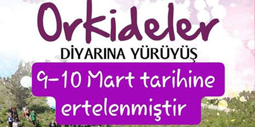 """""""Hisarköy Orkide Festivali"""" ertelendi"""