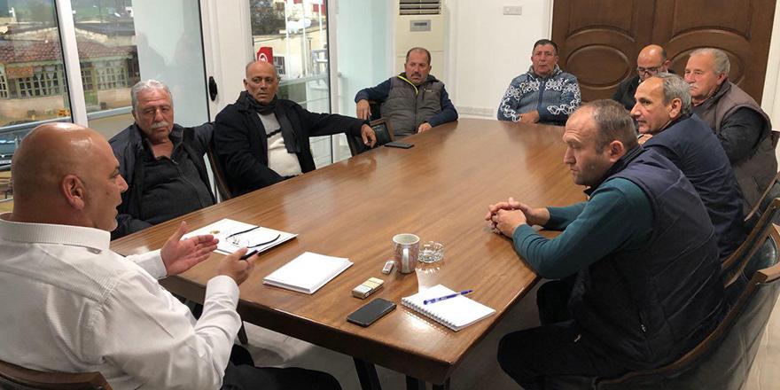Mehmetçik Belediyesi bölge muhtarlarıyla toplantı