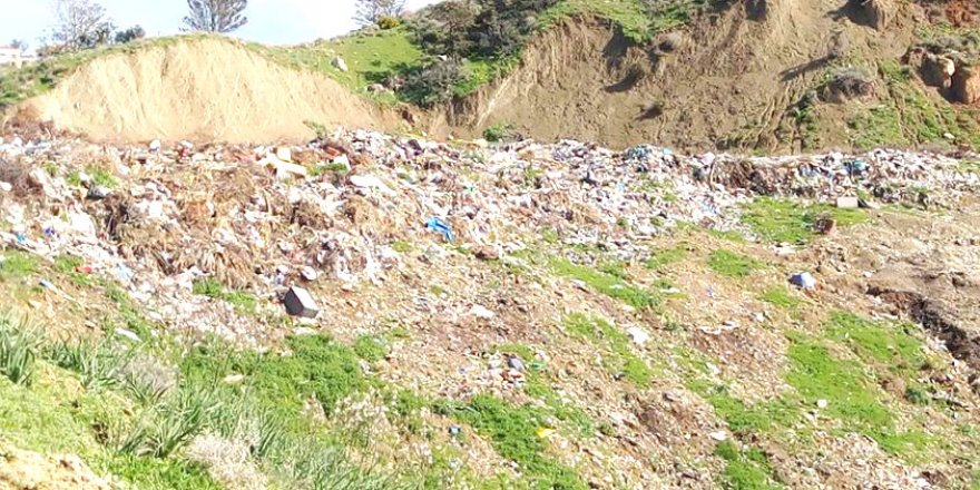 Esentepe'de çöplük de, sorun da büyüyor