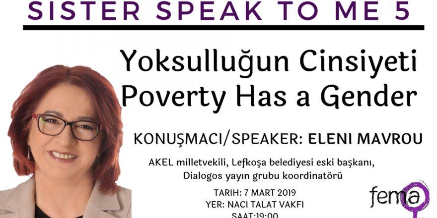 """""""Yoksulluğun Cinsiyeti"""" konuşulacak"""