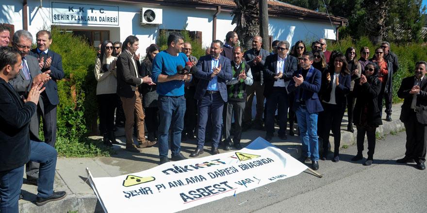 KTAMS'tan, Şehir Planlama Dairesi'nde uyarı grevi