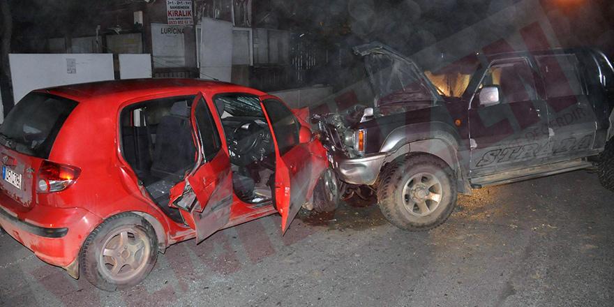 57 trafik kazasında 27 kişi yaralandı