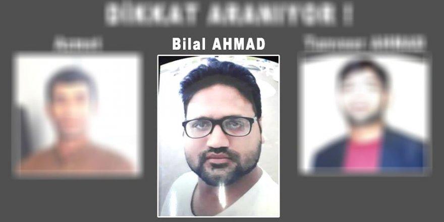 Bilal AHMAD yakalandı