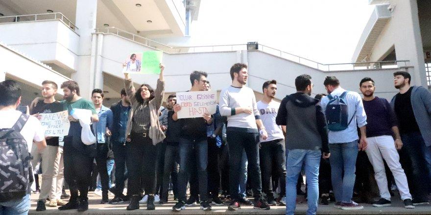 ODTÜ Kalkanlı'da 'toplu taşıma' isyanı