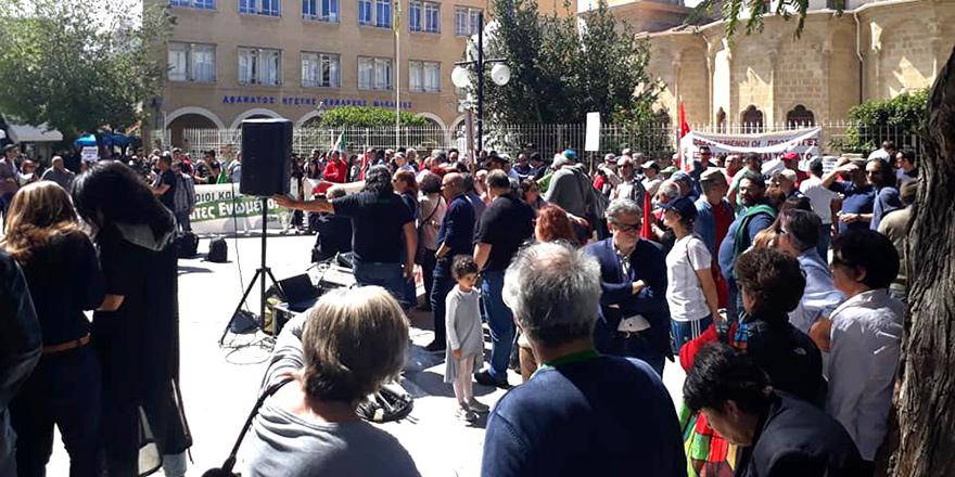 Faşizme Karşı Mücadele Günü'nde ortak yürüyüş ve eylem