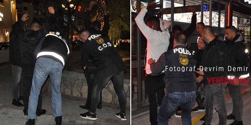 Polisten gece operasyonu