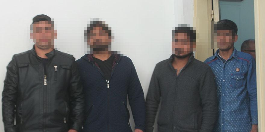 Kaçaklar ihraç için bekletiliyor