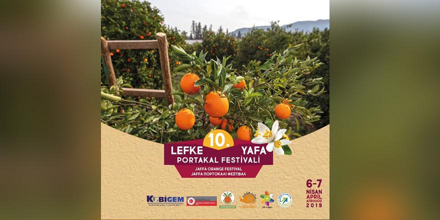 Lefke 10. Yafa Festivali 6-7 Nisan'da