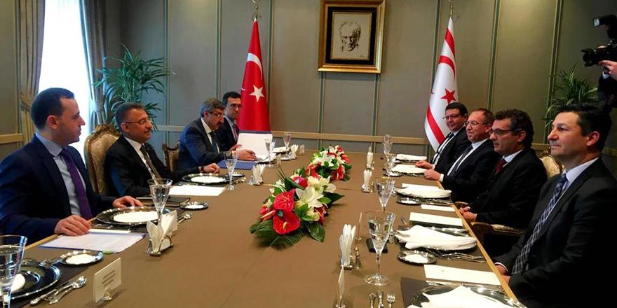 Erhürman, ekonomik protokol için Ankara'da