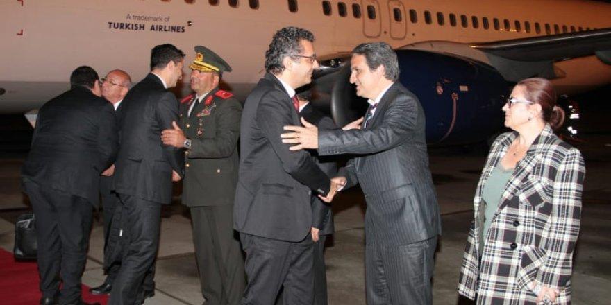 Başbakan Erhürman ülkeye döndü