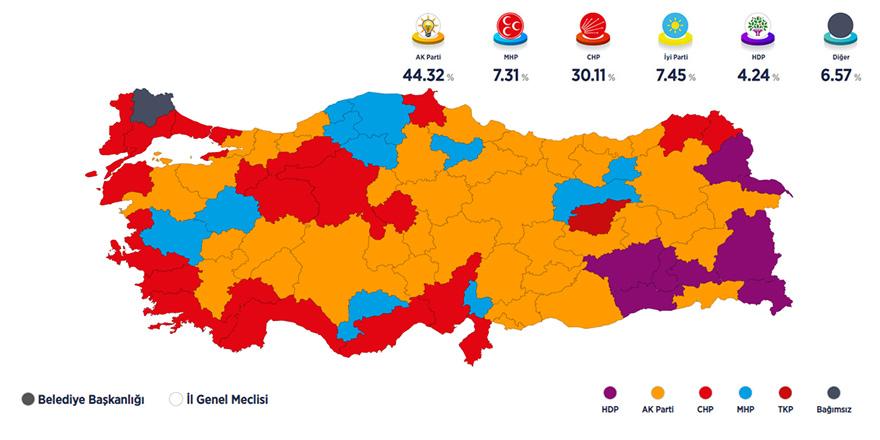 """""""31 Mart seçimi: 'Erdoğan'ın iktidarına darbe"""""""