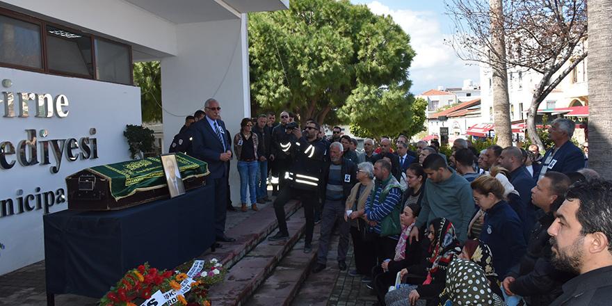 Mehmet Nur Ateş törenle uğurlandı