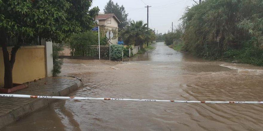 En çok yağış Girne'de