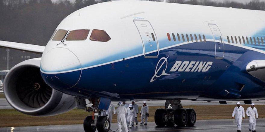 Boeing sorumluluğu üstlendi