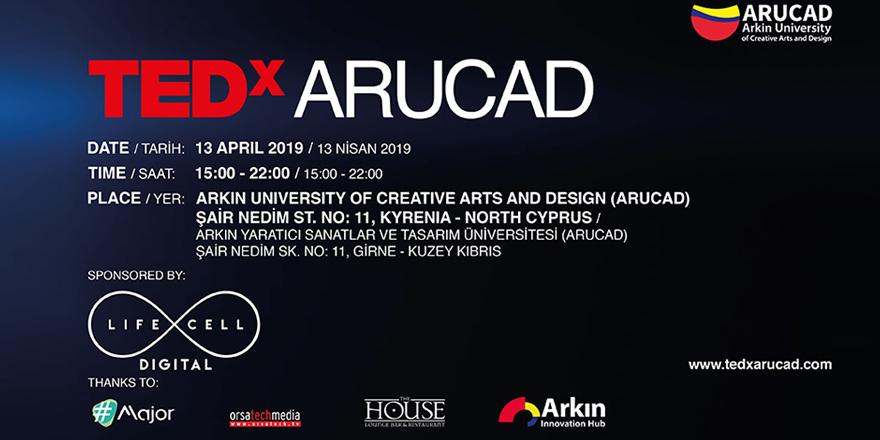 ARUCAD'da 13 Nisan'da TEDx Konferansı düzenleniyor
