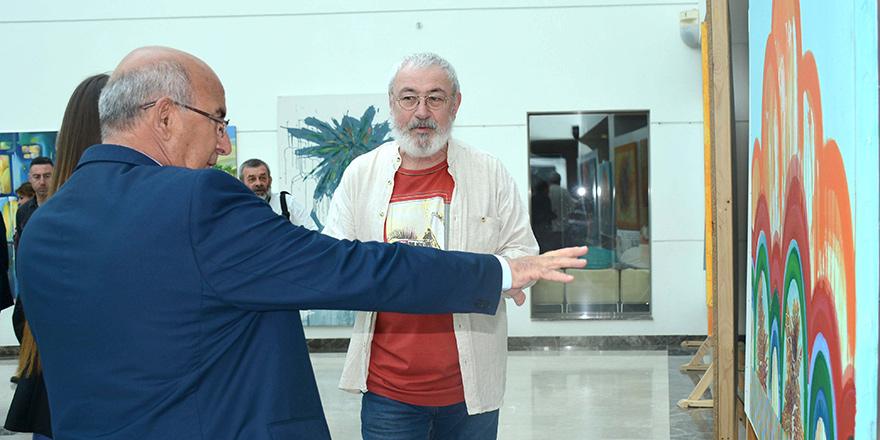 """""""Ukrayna Sanatçıları Sergisi"""" açıldı"""