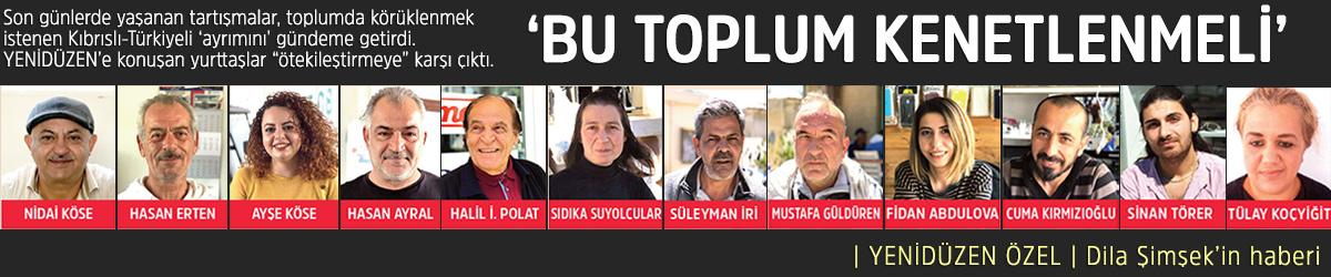 'BU TOPLUM KENETLENMELİ'