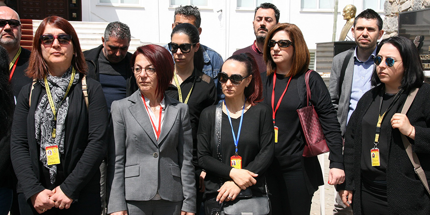 TAK çalışanları meclise kalem bıraktı