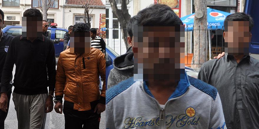 Girne'de kaçak operasyonu: 8 tutuklu