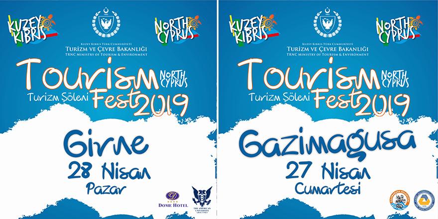 Girne ve Mağusa'da turizm şöleni