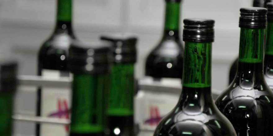 En yüksek artış alkolde
