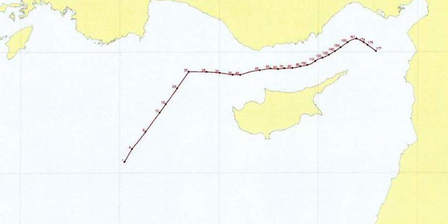 Deniz bölgesi koordinatları BM'ye sunuldu