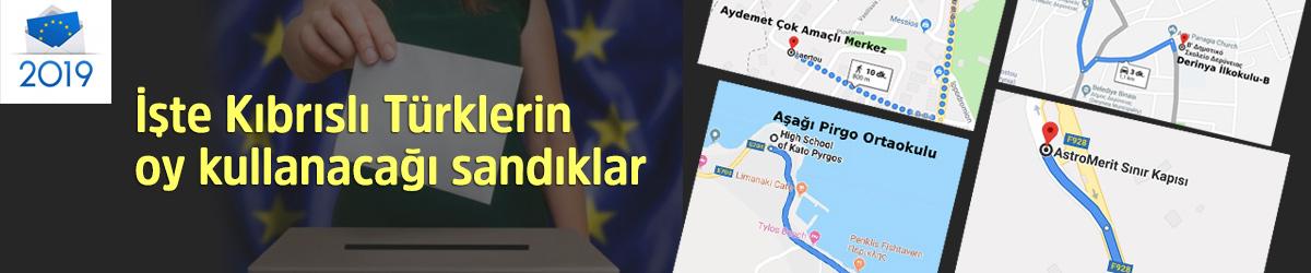 Kıbrıslı Türklerin Oy Kullanacağı Sandıklar Nerede?