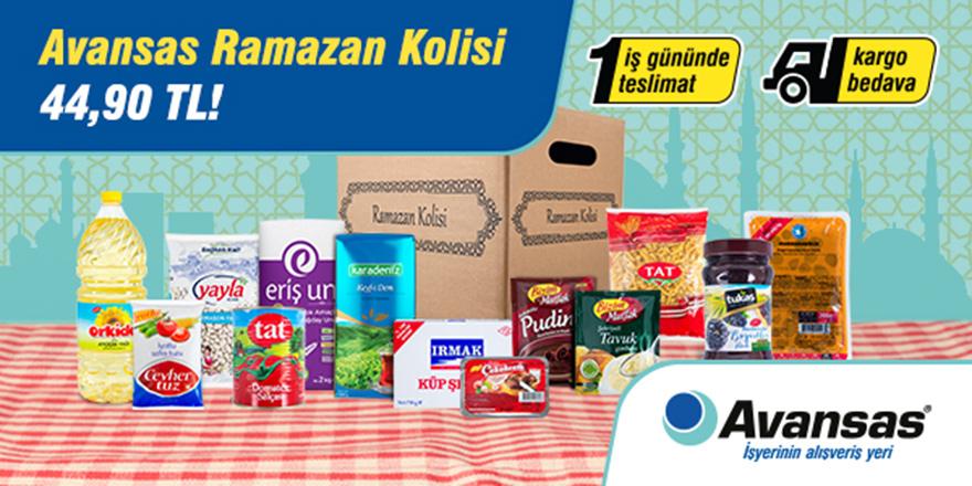 Avansas Ramazan Paketleri İşyerlerine Uygun Fiyat Sunuyor!
