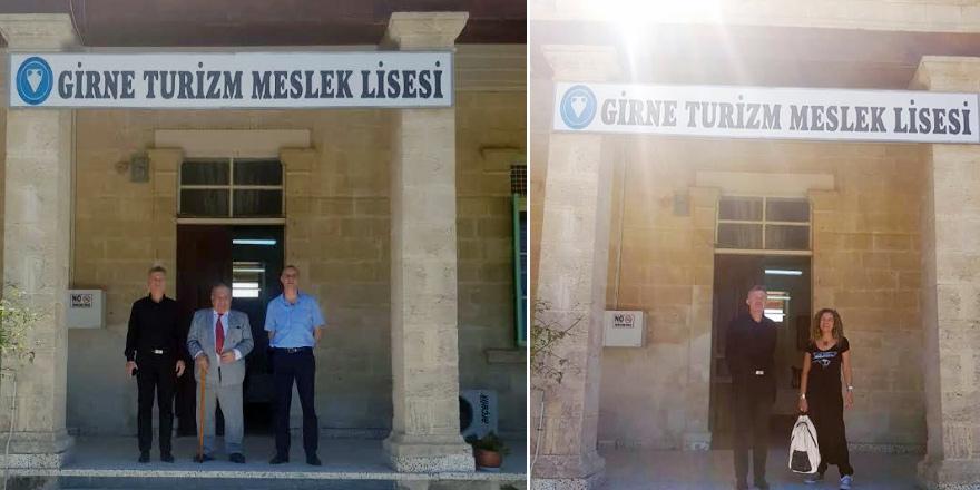 Girne Turizm Meslek Lisesi Kent, Günyüz ve Onar'ı Ağırladı