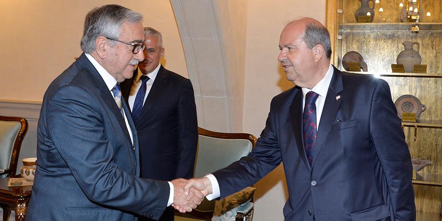 Ve görev UBP Genel Başkanı Tatar'ın