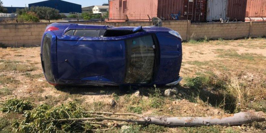 Mağusa'da kaza: 3 hafif yaralı
