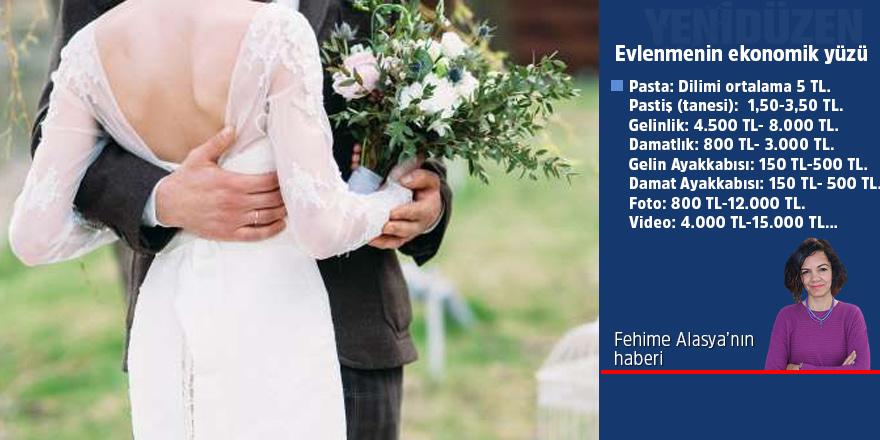 Evlenmenin ekonomik yüzü: Düğün hayali: PAHALI