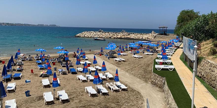 Kervansaray Halk Plajı açıldı
