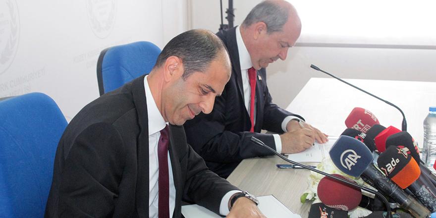 Koalisyon Protokolü imzalandı