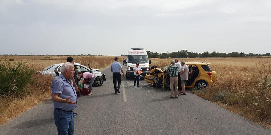 Büyük kaza: 9 yaralı